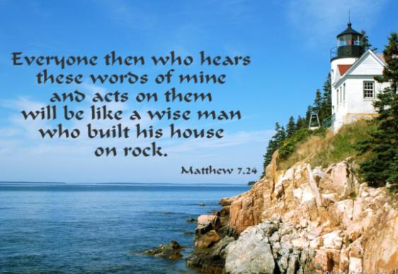 Matt 7 24