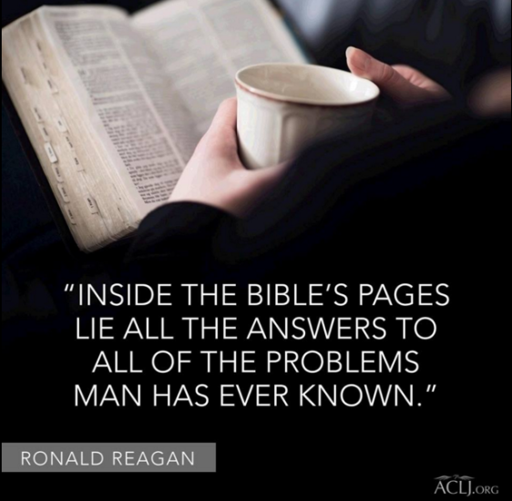 Reagan on the Bible