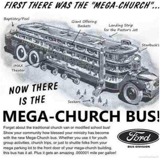 megachurch bus