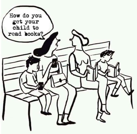 How do you get your child to read books